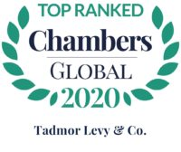 Chambers 2020 Ranks Tadmor Levy in 7 Areas of Expertise