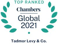 Chambers 2021 Ranks Tadmor Levy in 6 Areas of Expertise